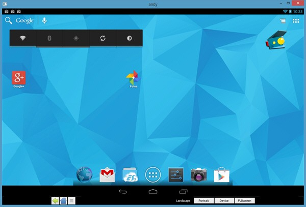 Andy Android Emulator Free Download Windows