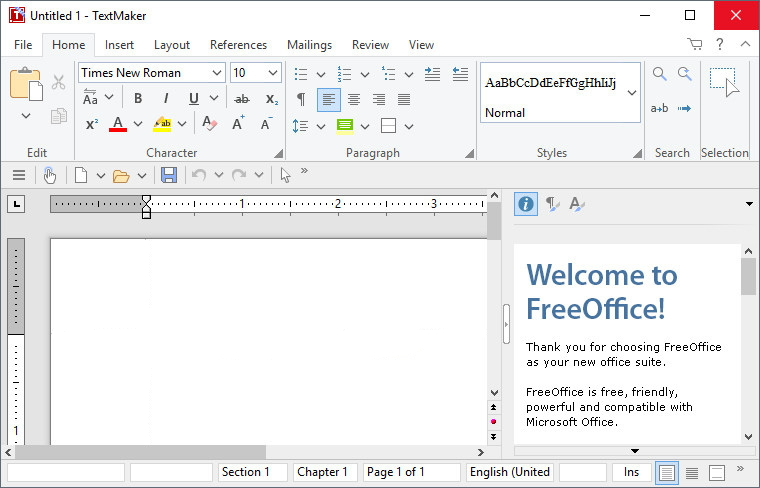 SoftMaker FreeOffice Free Download Windows
