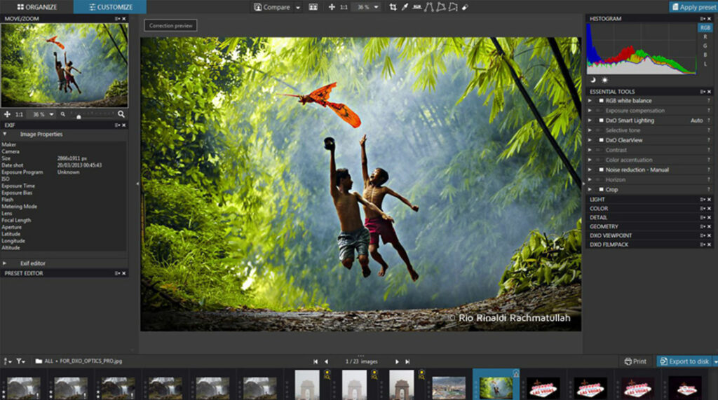 Download DxO PhotoLab for Windows