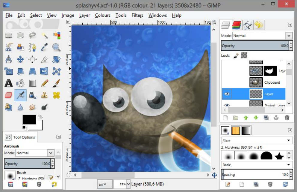 Download GIMP for Windows